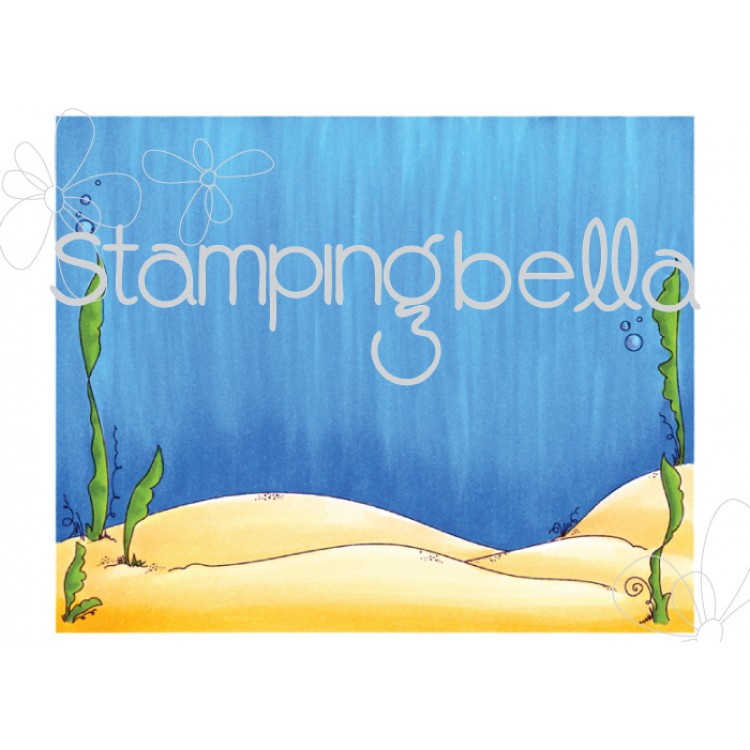 Stamping Bella - Under the sea backdrop
