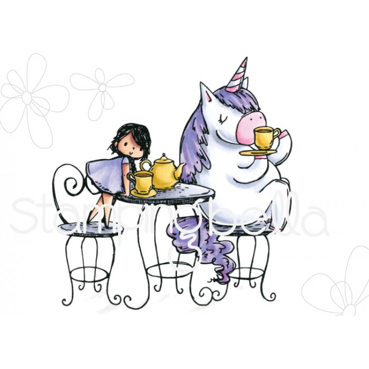 *PRE-ORDER - Stamping Bella - Rosie and Bernie have a tea party