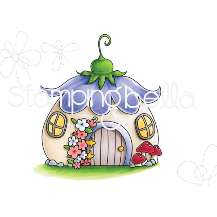 *NEW* - Stamping Bella - Little Bits Fairy House