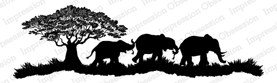 *NEW* - Impression Obsession - Elephant Scene