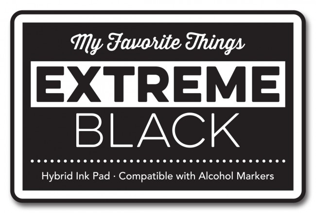My Favorite Things - Extreme Black Hybrid Ink Pad