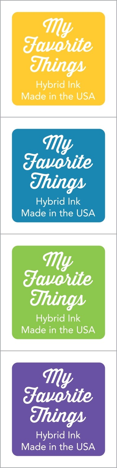 My Favorite Things - Hybrid Ink Cubes - Set 15