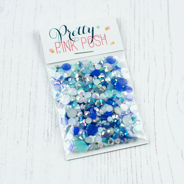 Pretty Pink Posh - Starry Sky Jewels Mix