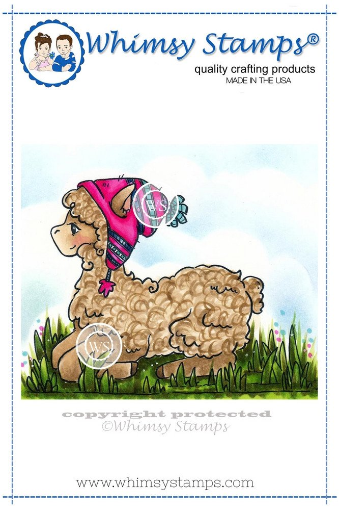 Whimsy Stamps - Alpaca Afternoons