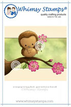 Whimsy Stamps - Woodland Owl - Lee Holland Collection