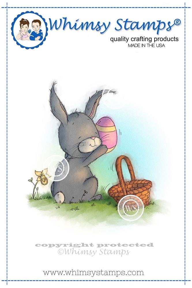 Whimsy Stamps - Bunny Found One