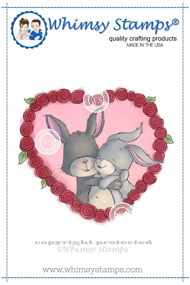 *NEW* - Whimsy Stamps - Bunny Cuddles