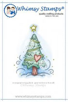 ** Whimsy Stamps - Woodland Christmas Tree - Meljen's Designs