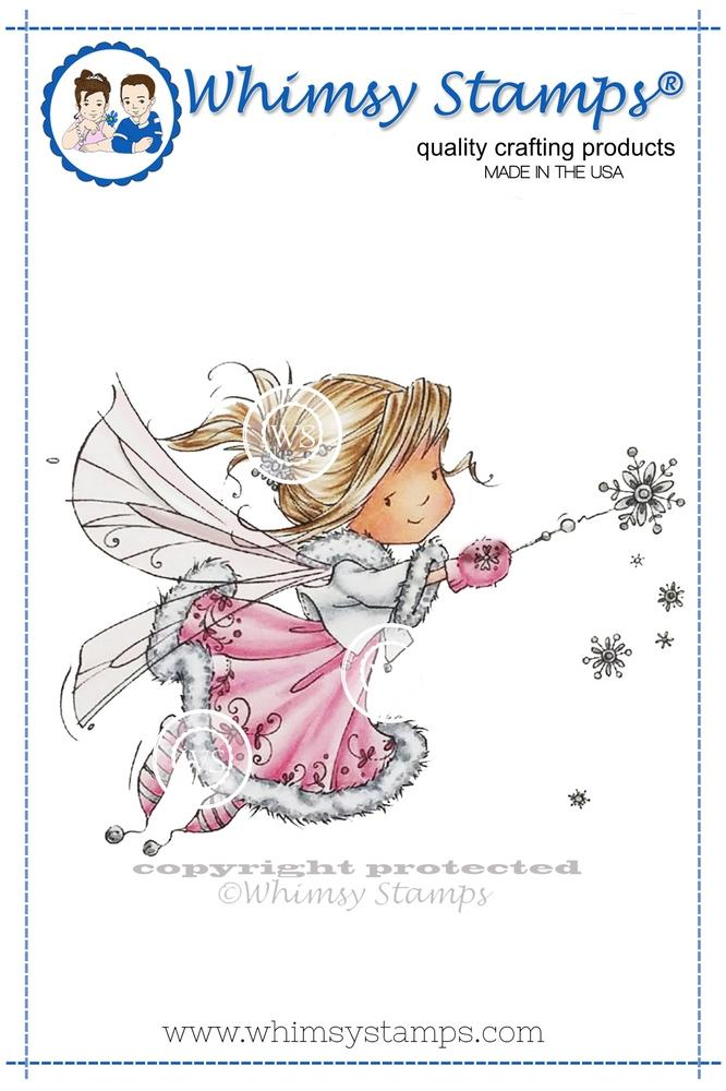 *NEW* - Whimsy Stamps - Snowflake Wishes Fairy