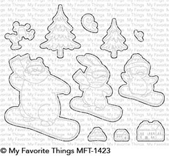 * NEW* - My Favorite Things - Die-namics BB Ready, Set, Snow