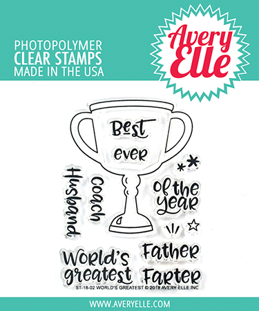 *NEW* - Avery Elle - World's Greatest Clear Stamps