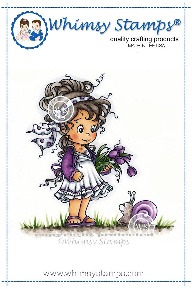Whimsy Stamps - Loli and Shellie