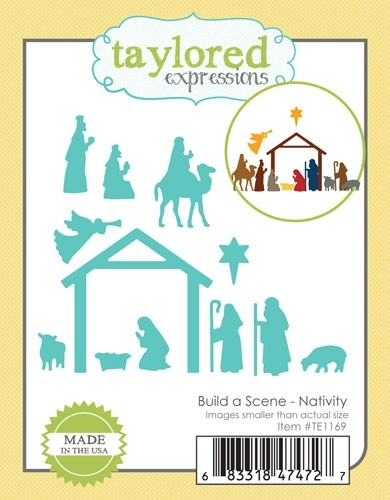 Taylored Expressions - Build a Scene - Nativity
