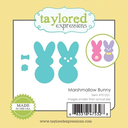 *NEW* - Taylored Expression - Little Bits - Marshmallow Bunny