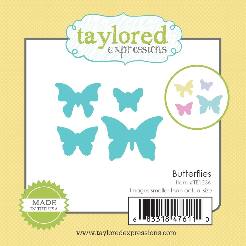 *NEW* - Taylored Expression - Little Bits - Butterflies