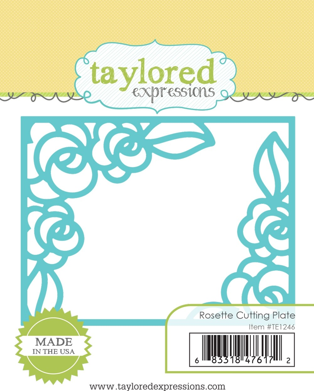 *NEW* - Taylored Expression - Rosette Cutting Plate