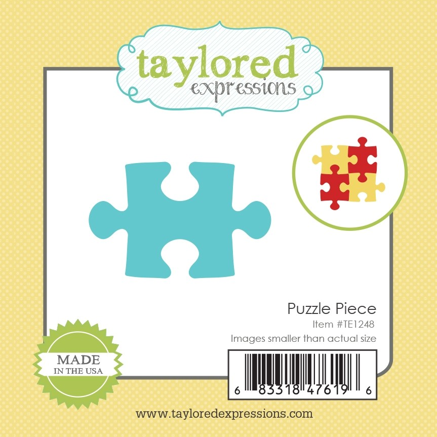 *NEW* - Taylored Expression - Little Bits - Puzzle Piece
