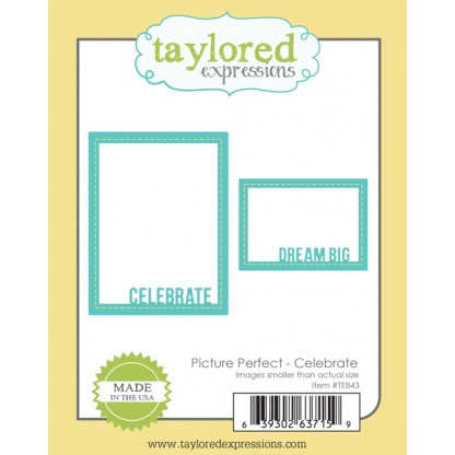Taylored Expressions - Picture Perfect - Celebrate