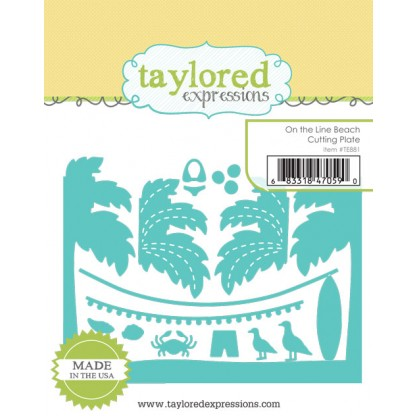 Taylored Expressions- On the Line Beach Cutting Plate