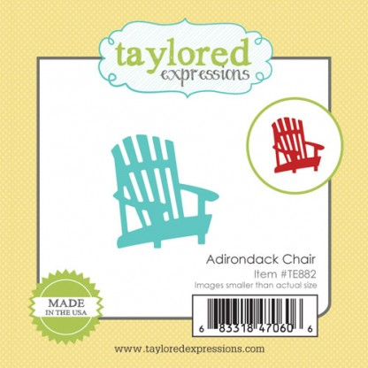 Taylored Expressions- Little Bits - Adirondack Chair