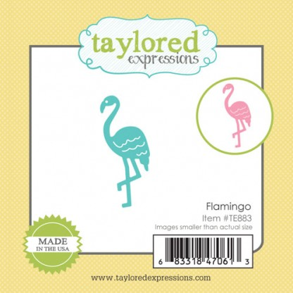 Taylored Expressions- Little Bits - Flamingo