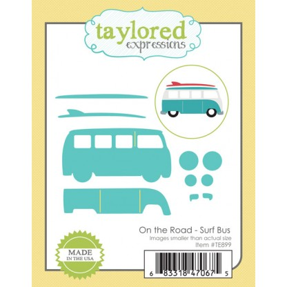 Taylored Expressions- On the Road - Surf Bus