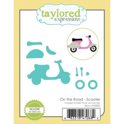 Taylored Expressions- On the Road - Scooter