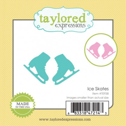 Taylored Expressions- Little Bits - Ice Skates