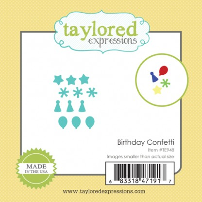 Taylored Expressions- Little Bits - Birthday Confetti