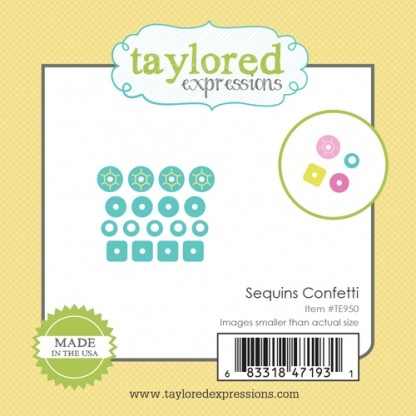 Taylored Expressions- Little Bits - Sequins Confetti