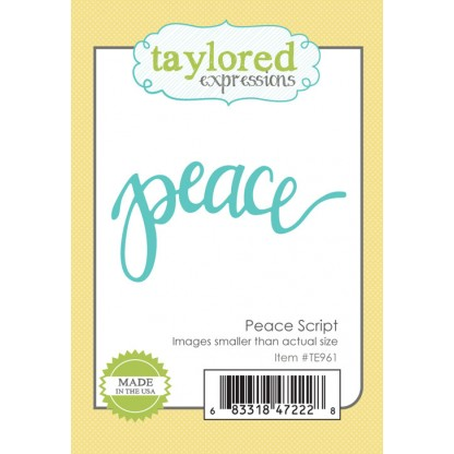 Taylored Expressions- Peace Script