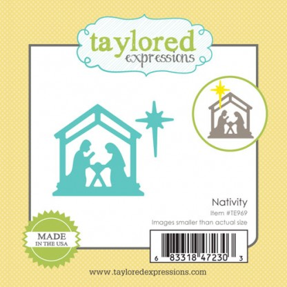 Taylored Expressions- Little Bits - Nativity