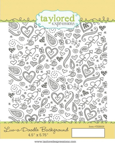 Taylored Expression - Luv-a-Doodle Background