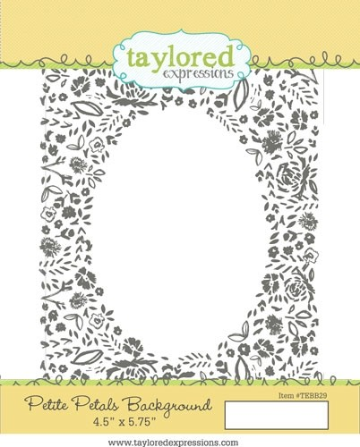 Taylored Expression - Petite Petals Background