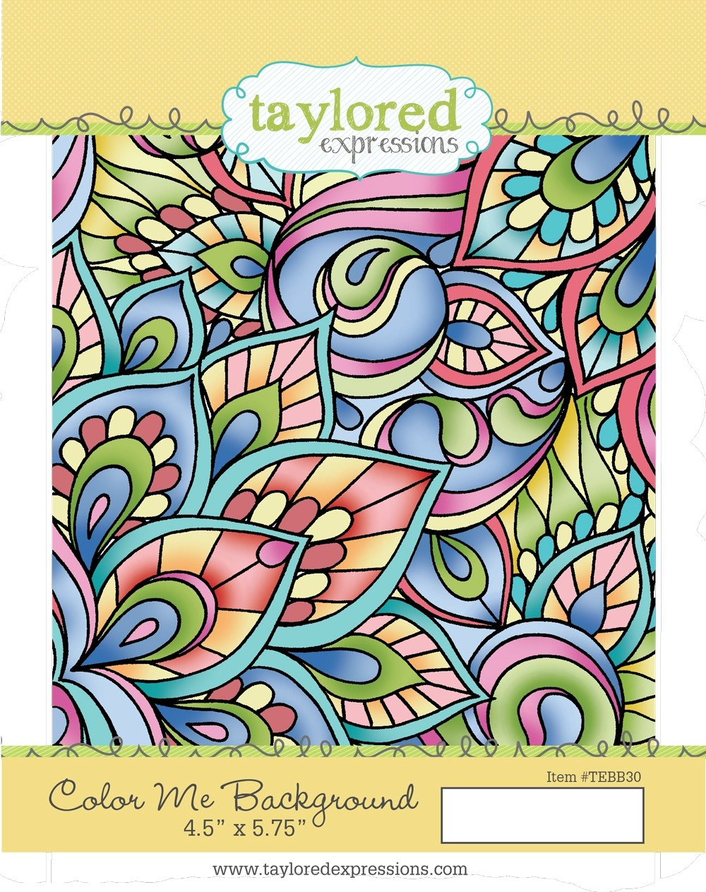 Taylored Expression - Color Me Background
