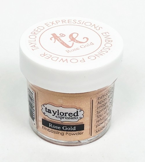 Taylored Expression - TE Embossing Powder - Rose Gold