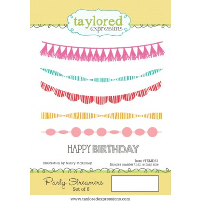 Taylored Expressions- Party Streamers