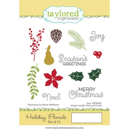 Taylored Expressions- Holiday Florals
