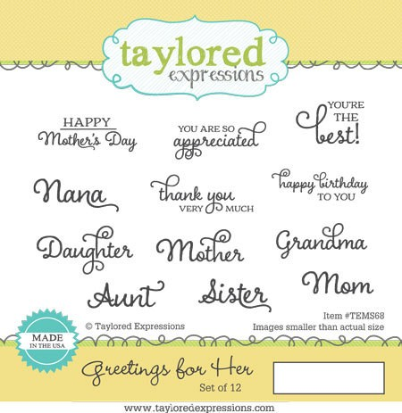 *OFFER OF THE WEEK* - Taylored Expressions - Greetings For Her