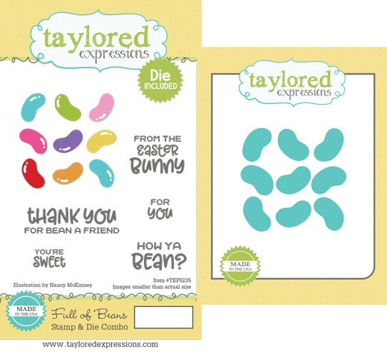 *NEW* - Taylored Expression - Full of Beans Stamp & Die Combo