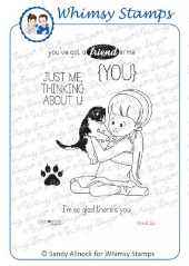 Whimsy Stamps - Alvin and Julie -