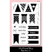 *SALE* My Favorite Things - Bitty Banners PLUS MATCHING DIE