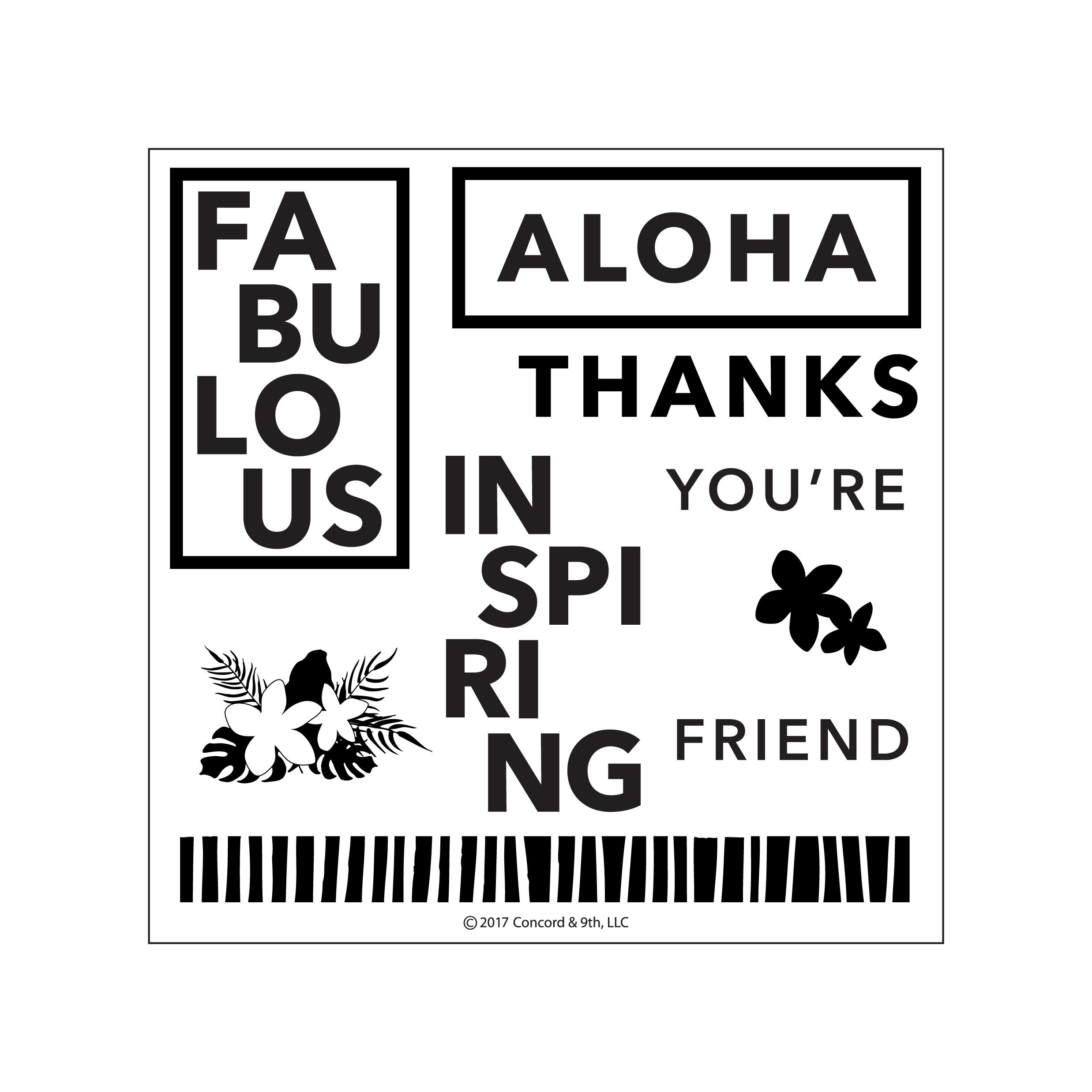 Concord & 9th - Aloha Friend