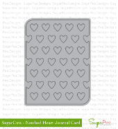##SugarPea Designs - Notched Heart Journal Card Die