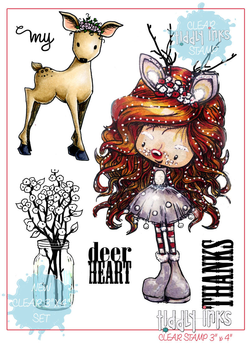 *NEW* - Tiddly Inks - Deer Heart