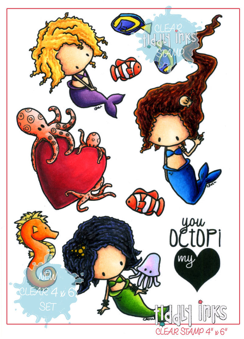 *NEW* - Tiddly Inks - Mini Mermaid Fun