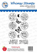 *WS* Whimsy Stamps - Fluttering By - SC Design Collection