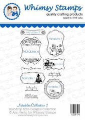 *WS* Whimsy Stamps - Notables Collection 2 - Sentiments Collection