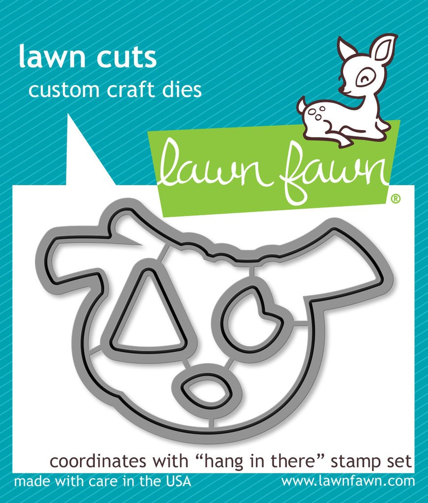 *NEW* - Lawn Fawn - Lawn  Cuts - Hang in There