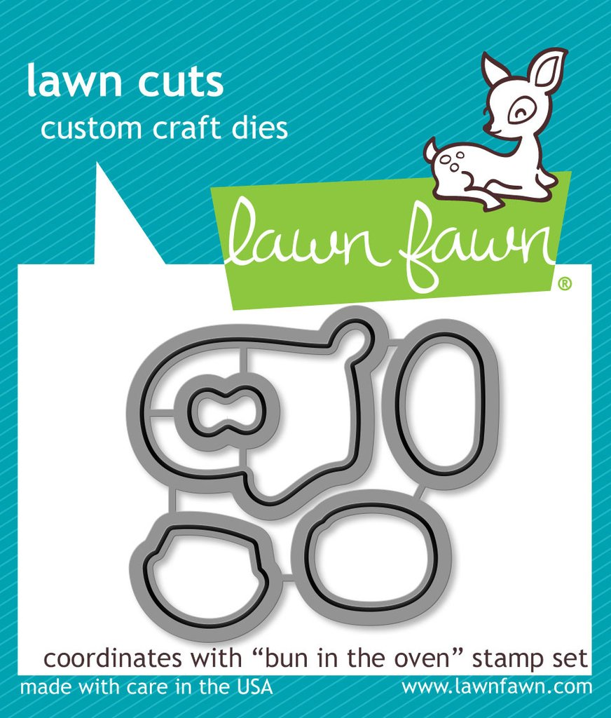 *NEW* - Lawn Fawn - Lawn Cuts - Bun in the Oven